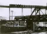 Lead - Triple-Deck Railroad Bridge;