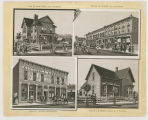 Rapid City - Historic Collage;Rapid City - Sweeney Block