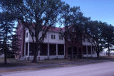 Fort Meade - Government Property;Fort Meade - Front and Side Facade;