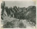 Custer - Hairpin Turn Near The Needles;Custer - Needles Highway