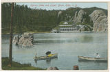 Custer - Sylvan Lake With Rowboats In 1908;Custer - 24572 US Highway 87