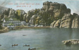 Custer - Sylvan Lake Summer Resort and Hotel;Custer - 24572 US Highway 87;Custer - Sylvan Lake...