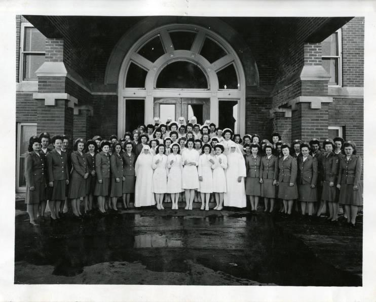 Sacred Heart Nursing Home >> Sacred Heart Hospital School Of Nursing Cadet Corps Nurses Yankton